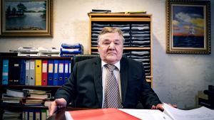 Pneuplan Oy:n toimitusjohtaja Raimo Erkkilä