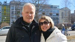 Rolf och Lilian Vestergren tyckte det var lätt att hitta sina kandidater.