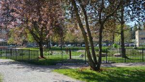 Centralparken i Pargas.
