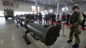 Den ryska missiltypen 9M729.