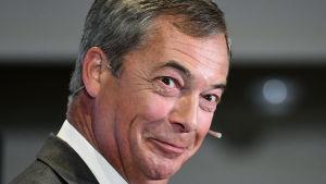 Nigel Farage, Brexitpartiets ordförande.