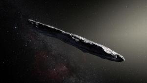 komeetta taiteilijan kuvaamana