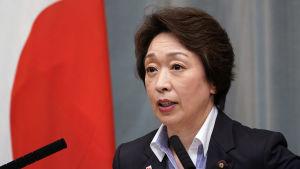 Seiko Hashimoto, ministern för olympiska spel, har seglat upp som favorit att efterträda Yoshiro Mori som OS-chef.