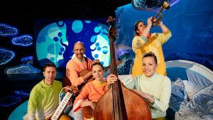 Pyjamasirkus: Pikku Papun orkesteri