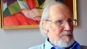 Konstnär Åke Hellman, 100 år