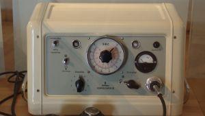 En Siemens konvulsator, ECT apparat från 1960-talet