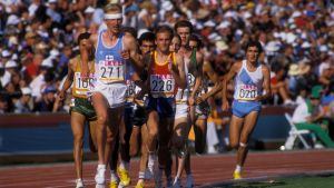 Martti Vainio springer, OS 1984.