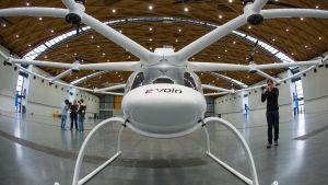 Volocopter är en del av UAE:s ambitiösa framtidsvision.