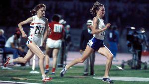 Nina Holmén vinner EM-guld, 1974.
