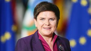 Polens före-detta premiärminister Beata Szydlo.