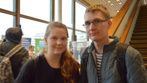 Bea Koskiniemi och Atte Virtanen.
