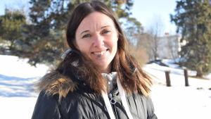 Marika Pulliainen är turismchef i Hangö.