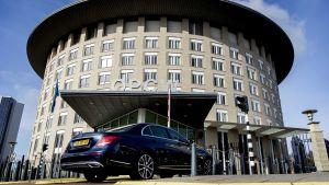 OPCW:s högkvarter i Haag, Nederländerna.