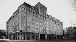 Unioninkatu 45 Helsingissä 1930-luvulla.
