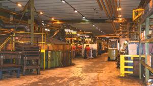 En industrihall.
