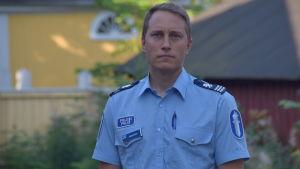 Markus Ramstedt är polis.