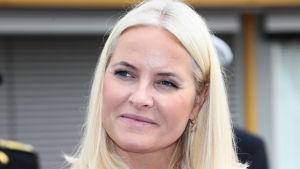 Norges kronprinsessa Mette-Marit representerade kungahuset på en tillställning den 25 september.