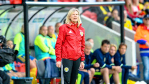 Anna Signeul ledde Skottland i Växjö ännu den 13 juni 2017.