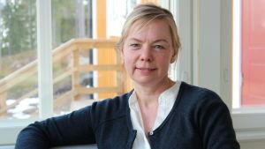 Porträtt på Annika Weckman