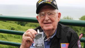 Jack Claiborne är en av de få veteraner som fortfarande är vid liv.