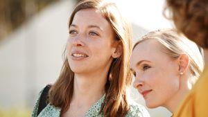 Li Andersson och Maria Ohisalo