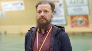 Porträttbild på Ilmari Viljanen.