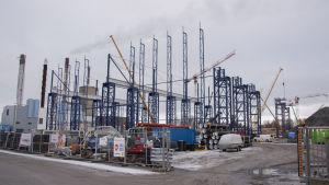 Wärtsiläs bygge av Smart Technology Hub på Vasklot i Vasa.