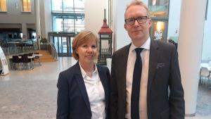 Anna-Maja Henriksson och Rolf Jansson.