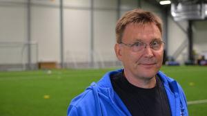Fotbollsföreningen Futuras ordförande Markus Broman