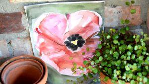 En akvarellmålning