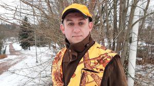 Tomas Randström är verksamhetsledare för Västra Nylands jaktvårdsförening.