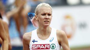 Sandra Eriksson, EM 2016.