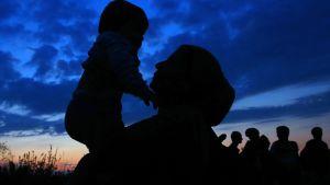 Flyktingar i Kroatien 23.9.2015