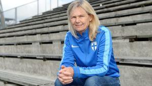 Anna Signeul är Finlands nya chefstränare.