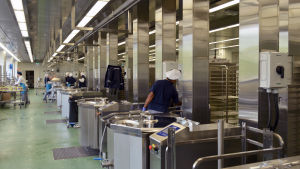 Espoo Catering nya storkök i Kilo i Esbo