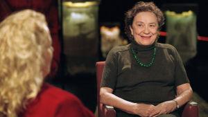 Vappu Jurkka Maarit Tastulan haastateltavana Punainen lanka -ohjelmassa 2001