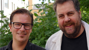 André Wickström och Stan Saanila
