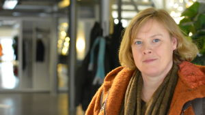 Sannikka Björklund tar över Kirjais byhandel.