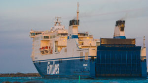 Fartyget MS Nordlink heter efter renoveringen MS Finnswan.