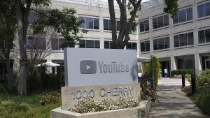 Youtubes huvudkontor i San Bruno, Kalifornien.