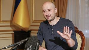 Den ryska journalisten Arkadij Babtjenko.