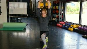 Matilda Nyqvist tränar crossfit