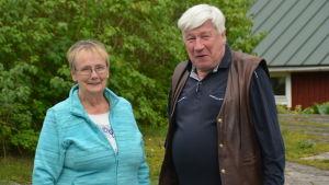 Lena Selén och Berndt Gottberg