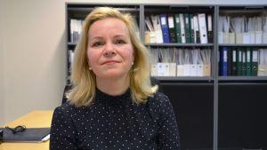 Anu Norrgrann, forskardoktor i marknadsföring på Hanken i Vasa.