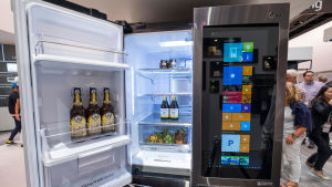 Ett smartkylskåp.