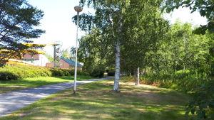 Hybridarenan placeras i Idrottsparken invid simhallen