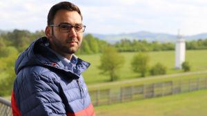 Danny Chahbouni arbetar för Point Alpha-stiftelsen