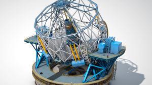 ELt-teleskoopin kaavakuva