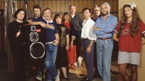 Radioteatterin henkillöstö vuonna 1988.