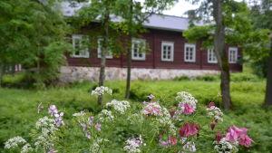 Byggnad i Kirjakkala bruk